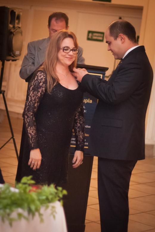 Dra. ROSANA RENART VILELA tornou-se a mais nova Rotariana do Clube.