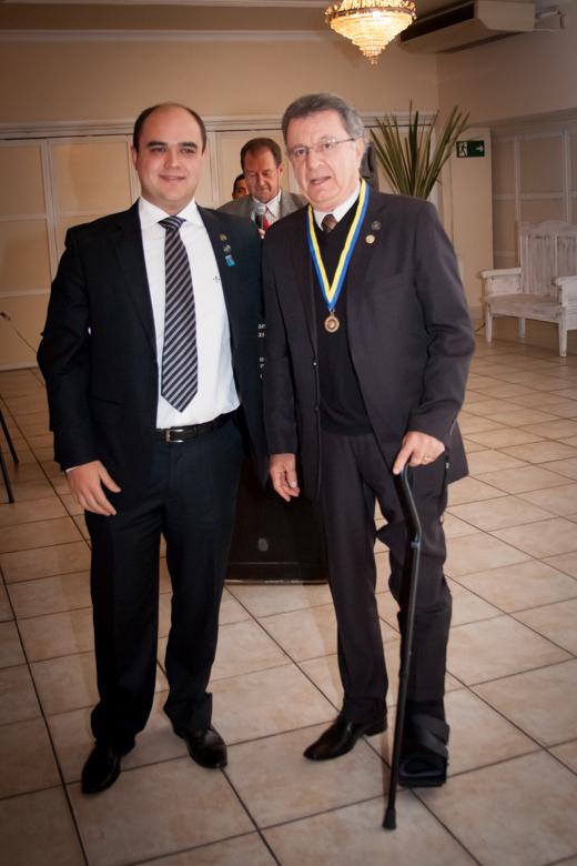 Concedeu-se ao Companheiro Armando Bertoni o título de Companheiro Paul Harris, a mais alta honraria de Rotary International.