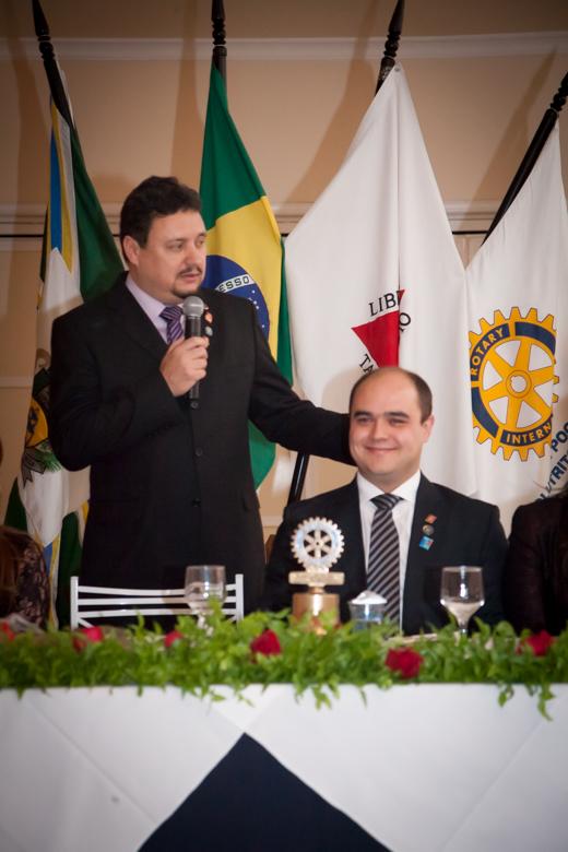 Pronunciamento do Presidente Carlos Alberto Vieira Forlin.