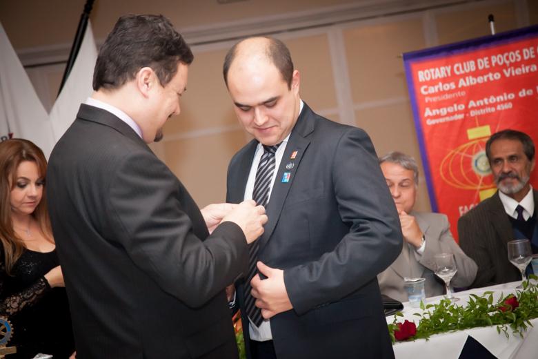 O ex-Presidente torna-se Secretário na gestão 2014/2015. Compromisso valorizado!