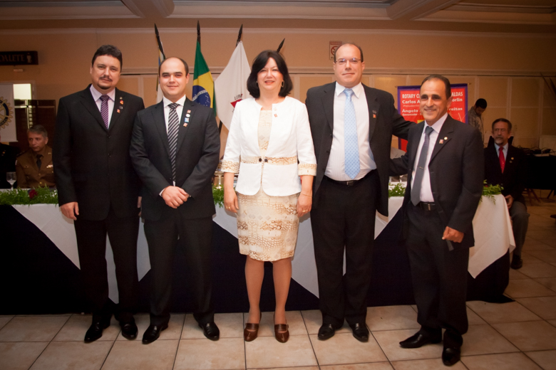 Diretoria Executiva do Rotary Club de Poços de Caldas